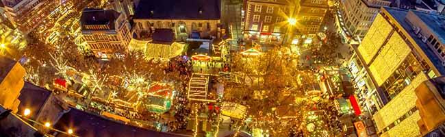 Stadt verhängt Baustopp für den Weihnachtsbaum – mehr Möglichkeiten für die Außengastronomie auch im Winter