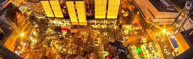 Der Weihnachtsmarkt Dortmund soll stattfinden und auch einen großen Baum bekommen  – bezahlt von der Stadt