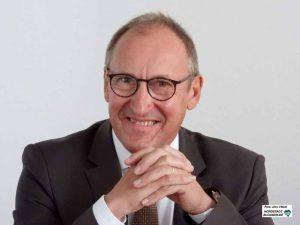Der neue Dortmunder Flughafen-Chef Ludger van Bebber. Foto: Alex Völkel