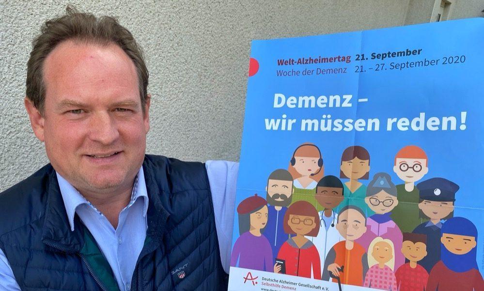 Mirko Pelzer ist Vorsitzender der Alzheimer-Gesellschaft Dortmund.