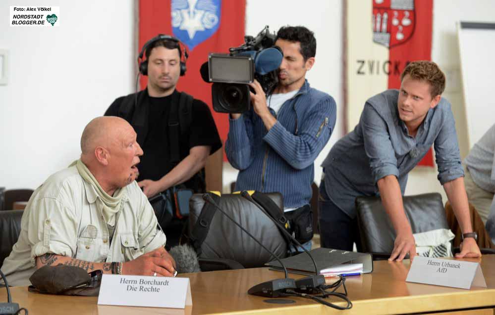 """Mit Galionsfigur Siegried """"SS-Siggi"""" Borchardt in Rat und Nordstadt-BV war den Neonazis mediale Aufmerksamkeit sicher. Das ist nun vorbei."""