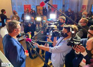 Der neue Mann im Rampenlicht: Thomas Westphal wird ab November die Nachfolge von Ullrich Sierau antreten.