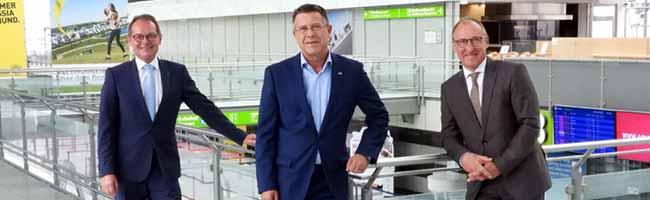 Neuer Flughafen-Chef in Dortmund: Udo Mager (64) geht in Rente – dafür nimmt Ludger van Bebber (57) im Cockpit Platz