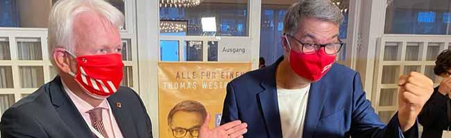 Knappes Stichwahl-Ergebnis in Dortmund: Thomas Westphal (SPD) setzt sich gegen Dr. Andreas Hollstein (CDU) durch