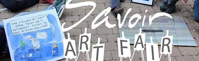 """Erste """"Savoir Art Fair"""" in der Nordstadt – das Programm findet wetterbedingt im Innenraum der Pauluskirche statt"""