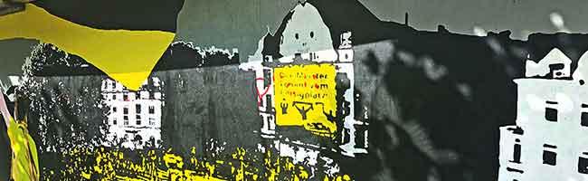 Meisterfeier am Borsigplatz: Neues Graffito hält die lange BVB-Geschichte des Nordstadt-Quartiers lebendig