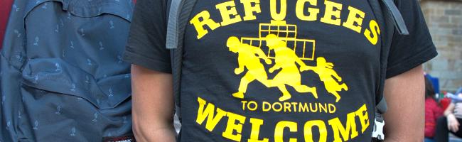 #LeaveNoOneBehind: 1.000 Dortmunder*innen fordern nach Brand Evakuierung des Flüchtlingscamps Moria