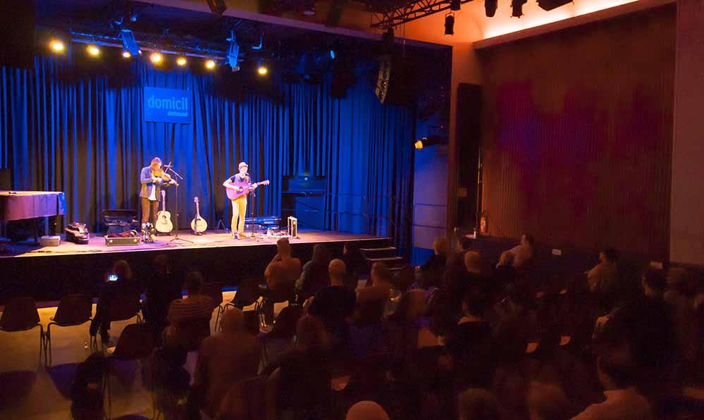 """Mit einem Konzert der Band """"Broom Bezzums"""" im Domicil feierte die Deutsch-Britische Gesellschaft ihr 60. Bestehen."""