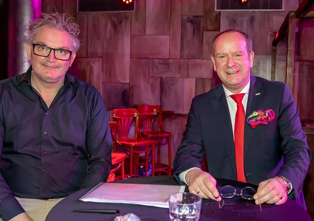 Tobias Heitmann folgt Dirk Rutenhofer als Vorsitzender Cityrings nach. Fotos: Jan Heinze