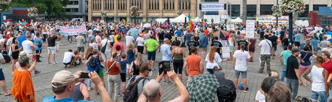 Querdenken-Demo am Sonntag: bis zu 3000 Teilnehmer*innen in Innenstadt erwartet – Polizei mahnt Infektionsschutz an