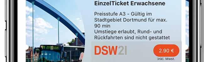 """DSW21 startet neue Ticket-App """"DOtick"""" – In drei Sekunden zum digitalen Fahrschein ohne Anstellen am Ticketautomat"""