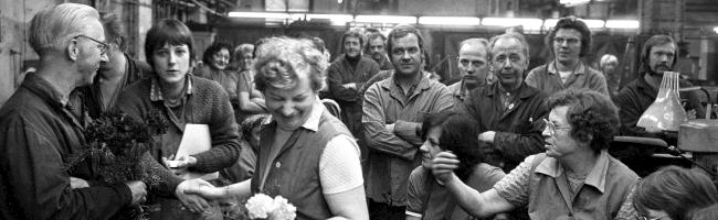"""""""Gesichter der Arbeit"""": Fotografien von Günter Krawutschke aus Ostberliner Industriebetrieben kommen in die DASA"""