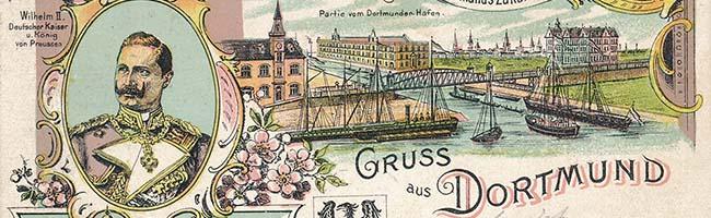 SERIE Nordstadt-Geschichte(n): Vor 125 Jahren wurden die beiden ersten Spatenstiche für den Dortmunder Hafen getan