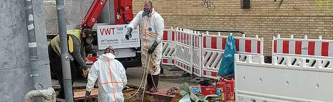 Naphthalin-Funde in der Kieferstraße in Hombruch: Unbekannter Schacht erkundet und wieder verschlossen