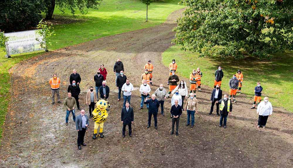 Viele Menschen und Institutionen packen bei dem Vorhaben an. Foto. Roland Gorecki