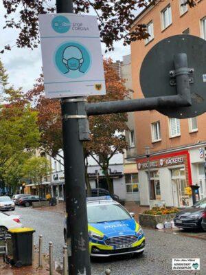 Die Stadt will den Kontrolldruck erhöhen, was die Einhaltung der Maskenpflicht und der anderen Regelungen angeht. Foto: Alex Völkel