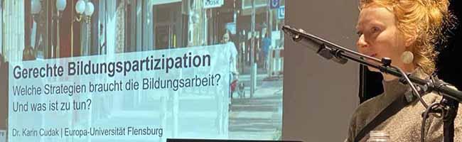 """Tagung """"Bildungsgerechtigkeit in der Migrationsgesellschaft"""" gelingt trotz Corona und Streik als Präsenzveranstaltung"""