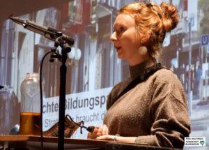 Dr. Karen Cudak von der Europa-Universität Flensburg