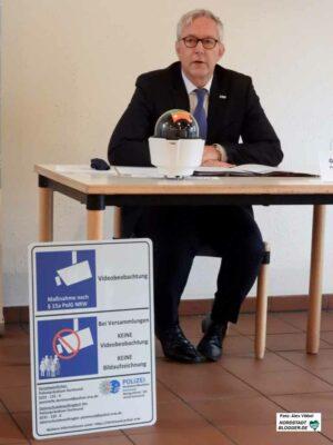 Polizeipräsident Gregor Lange