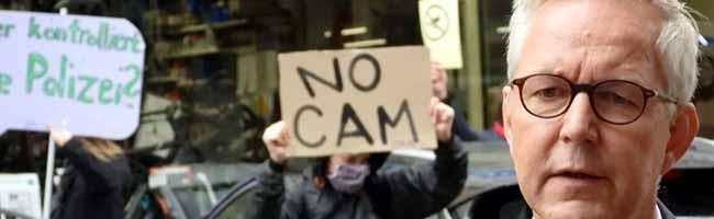 Erste Kamera hängt: Polizei will Videobeobachtung in der Münsterstraße noch 2020 – dagegen gibt's scharfe Kritik