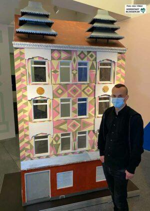 Die Künstler Mathias Jud (Foto) und Christoph Wachter haben mit Menschen aus der Roma-Community am Nordmarkt gearbeitet.