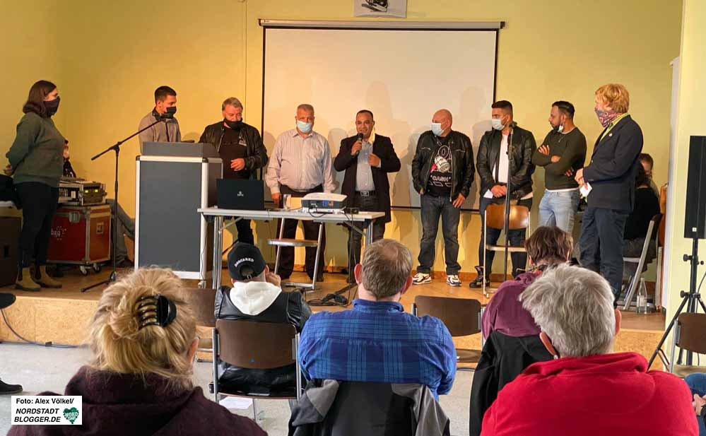 Zumindest die Partner von GrünBau aus Bulgarien konnten zum Forum nach Dortmund kommen.