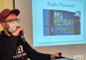 Steffen Moor ist freier Theatermacher und seit drei Jahren für GrünBau in Austauschprojekten aktiv.