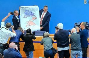 Steffen Kanitz stellte am Morgen nach der Stichwahl in Berlin die Pläne zur Suche nach einem Atommüllendlager vor.