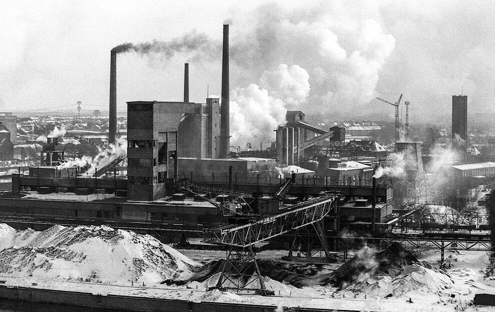 Die Gaskokerei Rummelsburg in Berlin-Lichtenberg 1981. Fotos: Günter Krawutschke