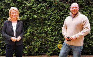 Sabine Poschmann und Jens Peick wollen für die Dortmunder SPD in den Bundestag. Foto: SPD