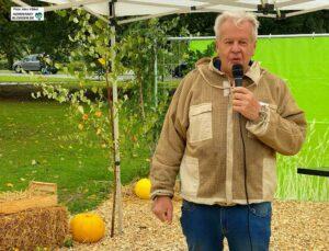 Siegfried Rinke, Vertreter der Kreis-Imkerschaft.