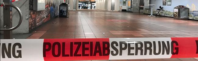 Stundenlange Sperrung am Hauptbahnhof Dortmund –  Verdächtiger Rucksack wurde kontrolliert gesprengt