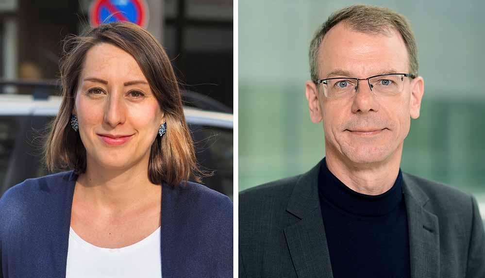 Anke Weber und Markus Kurth möchten die Dortmunder Grünen in den Bundestag schicken. Fotos: Partei