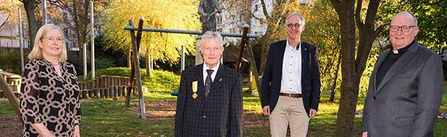 Rainer Seemer erhält päpstlichen Orden für besondere Verdienste im Einsatz für das St. Vincenz Jugendhilfe-Zentrum