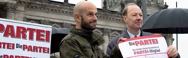 """Marco Bülow will für """"Die Partei"""" in den Bundestag – die SPD schickt Sabine Poschmann und Jens Peick ins Rennen"""