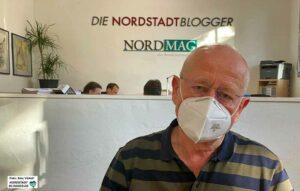 Bezirksbürgermeister Dr. Ludwig Jörder nimmt Abschied.