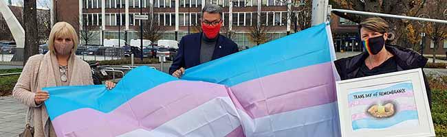 """Heute ist """"Transgender Day of Remembrance"""": Gedenken in Dortmund an Opfer trans*feindlich motivierter Gewalt"""