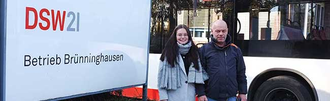 Jeden Tag ein anderer Dienstbeginn – Um 3.30 Uhr fahren bereits die ersten Busse in Dortmund vom Betriebshof