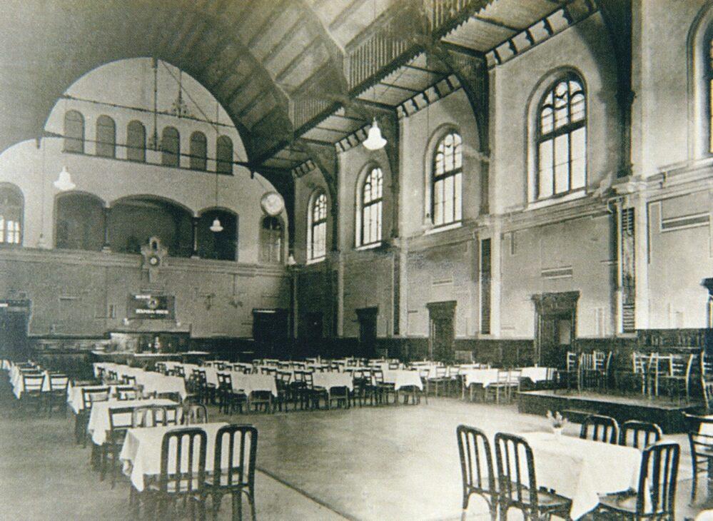 Der Börsensaal um 1920 (Stadtarchiv)