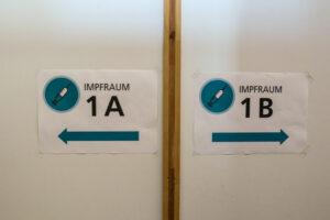 Impfzentrum auf Phoenix-West. Foto: Karsten Wickern