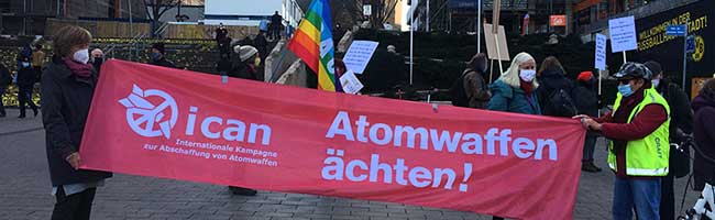 """""""Wer den Frieden will, muss für die Freiheit kämpfen"""" – Kundgebungen in Dortmund gegen höhere Rüstungsausgaben"""