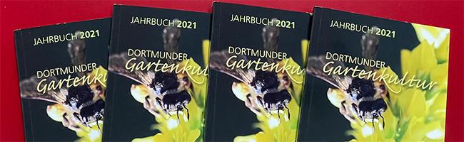 """Das Jahrbuch """"Dortmunder Gartenbaukultur 2021"""" ist kostenlos erhältlich. Foto: Alex VölkelDas Jahrbuch """"Dortmunder Gartenbaukultur 2021"""" ist kostenlos erhältlich. Foto: Alex Völkel"""