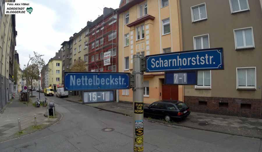 Die Nettelbeckstraße ist wegen ihres Namenspatrons erneut in der Diskussion. Foto: Alex Völkel