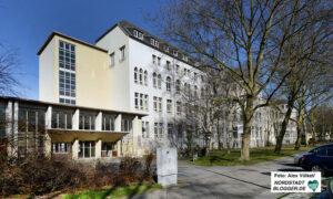 Zuletzt wurde ehemalige Krankenhaus von der Anne-Frank-Gesamtschule genutzt. Archivfoto: Alex Völkel