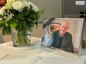 In der letzten Ratssitzung wurde an den plötzlich verstorbenen CDU-Politiker erinnert. Foto: Alex Völkel