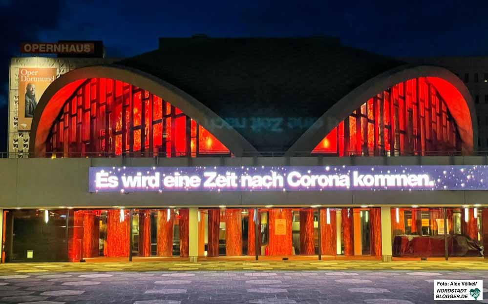 """Alarmstufe Rot in der Kultur - und dennoch eine positive und Mut machende Botschaft: """"Es wird eine Zeit nach Corona geben"""". Foto: Alex Völkel"""