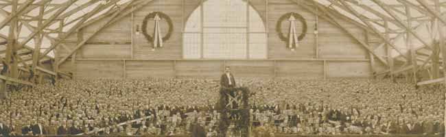 SERIE Nordstadt-Geschichte(n): Für ein Sängerfest wurde 1910 am Fredenbaum ein monumentales Festzelt errichtet