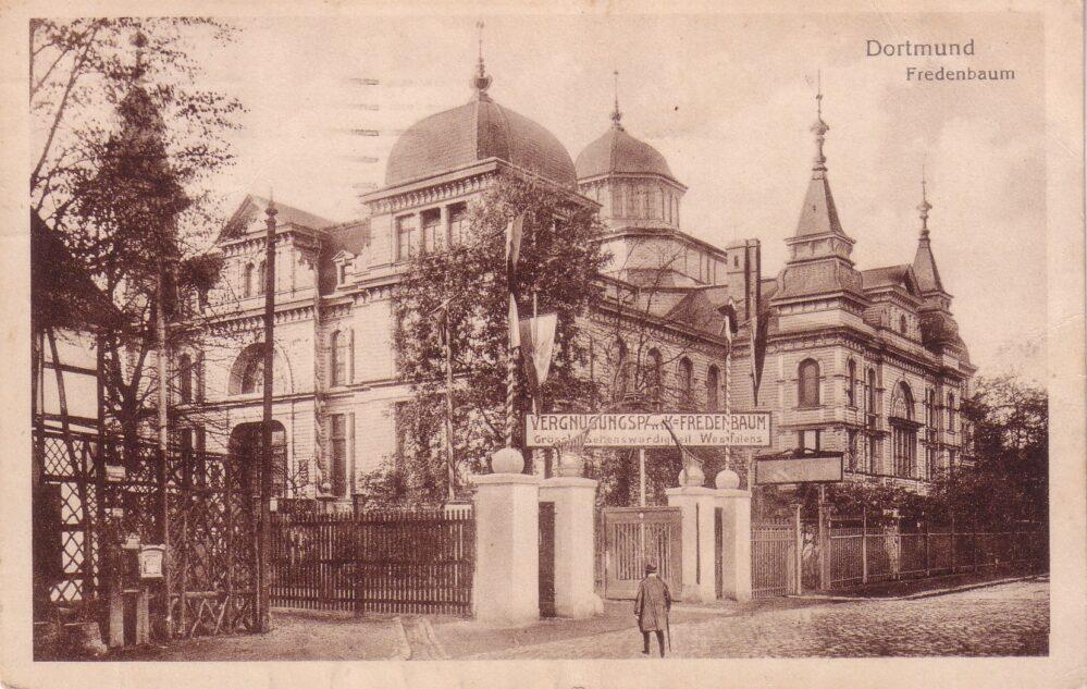 Der Saalbau Fredenbaum an der Münsterstraße, 1910/15 (Sammlung Klaus Winter)