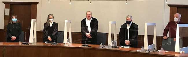 Freispruch oder lebenslange Freiheitsstrafe? Mit Spannung wird das Urteil im Schalla-Prozess am Landgericht erwartet