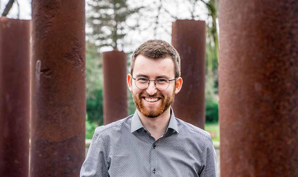 Michael Röls ist neuer Sprecher des Kreisverbandes der Dortmunder Grünen. Foto: Patrick Haermeyer